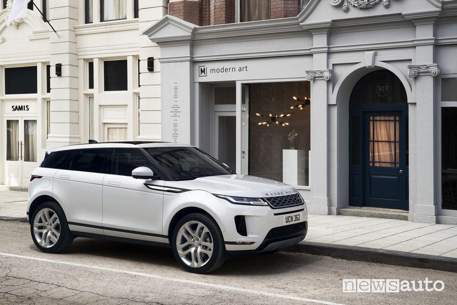SUV ad alte prestazioni Range Rover Evoque