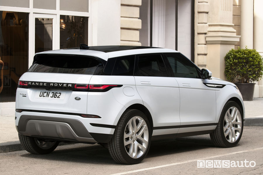 Range Rover_Evoque 2019, vista posteriore
