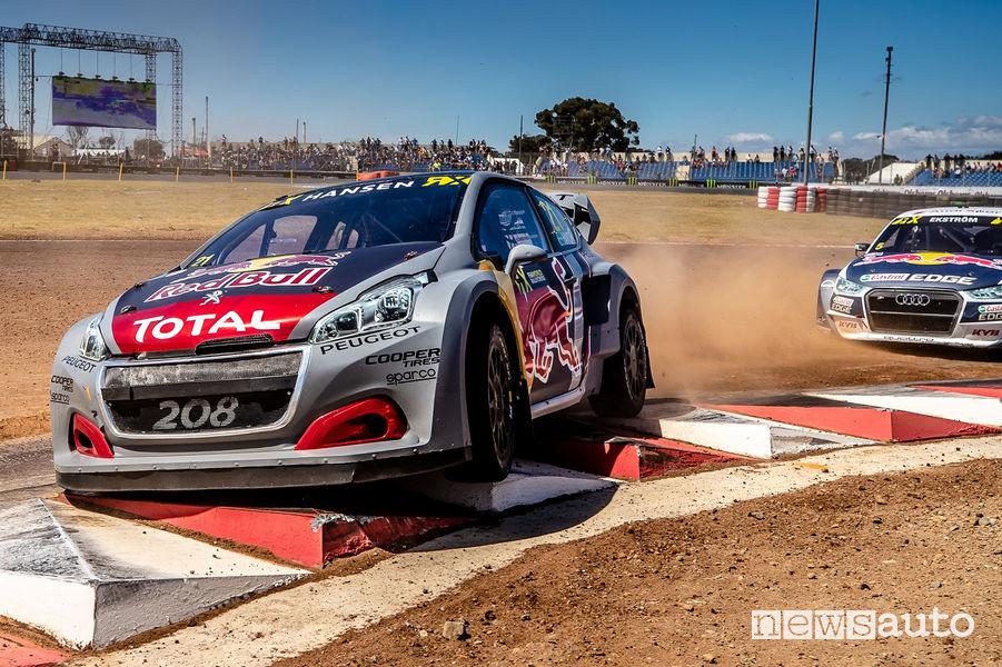 WRX Sudafrica 2018 Peugeot 208 WRX Evo (Timmy Hansen)