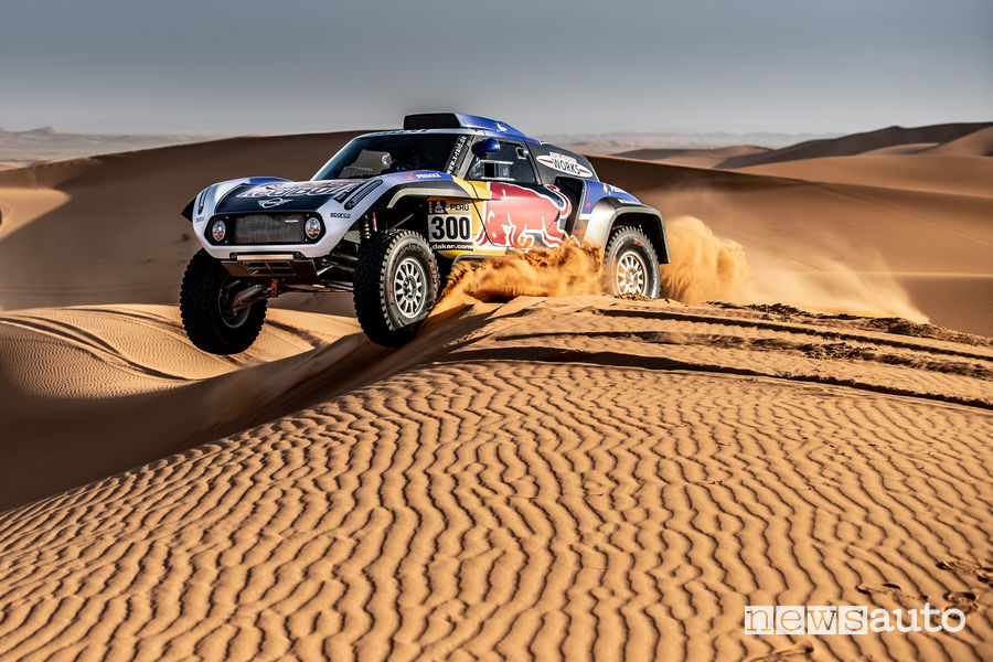 Dakar_2019 buggy MINI John Cooper Works