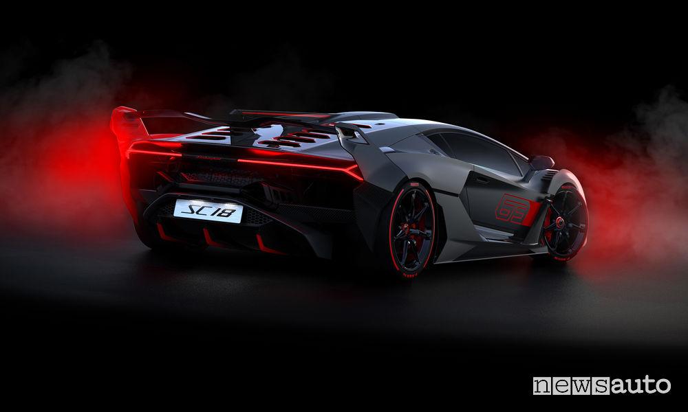 Lamborghini_SC18 Alston, vista posteriore