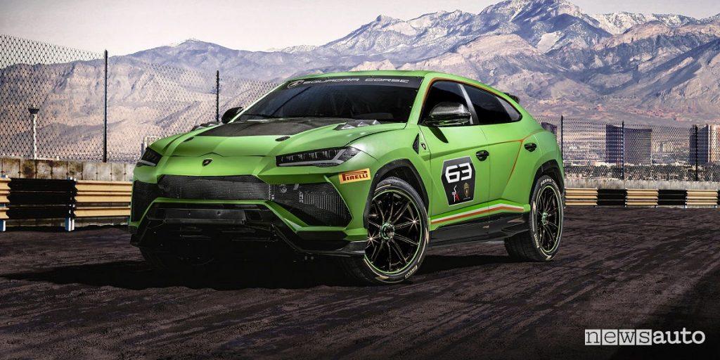 SUV da corsa Lamborghini Urus ST X Concept hypercar lamborghini
