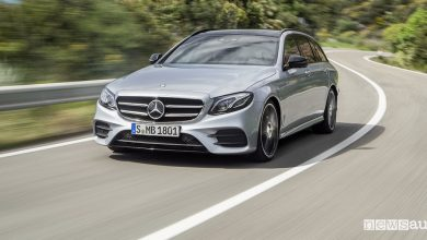 Mercedes Classe E ibrida plug-in