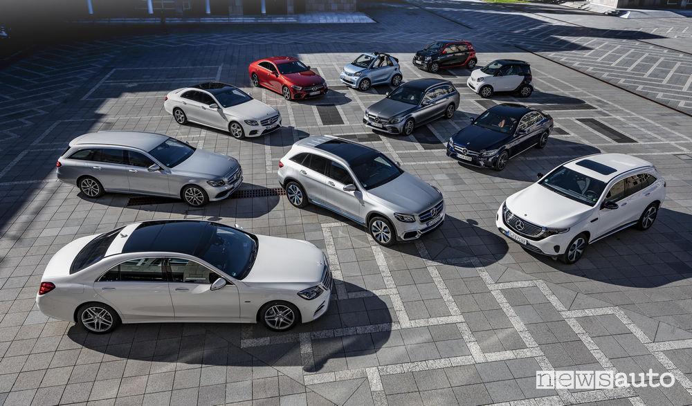 Mercedes-Benz gamma EQ elettrificata
