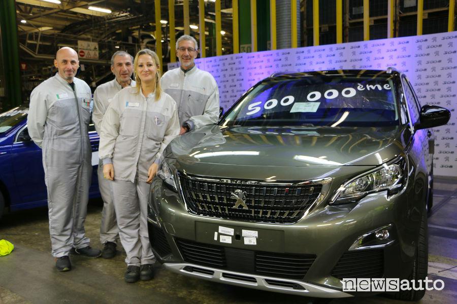 Peugeot 3008 Sochaux mezzo milione