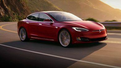 Tesla model s p100d auto sportiva