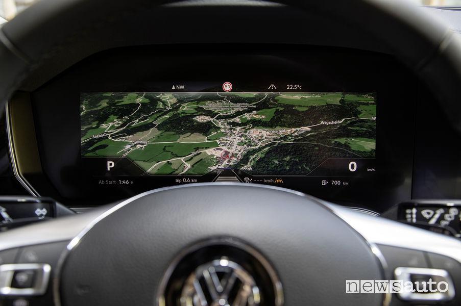 Quadro curvilineo Volkswagen Touareg