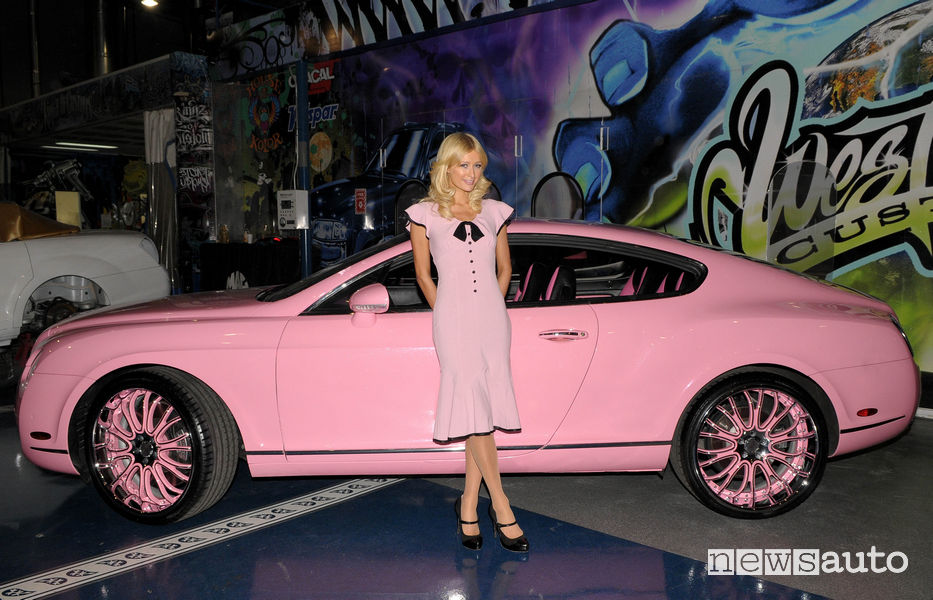 Bentley GT di Paris Hilton
