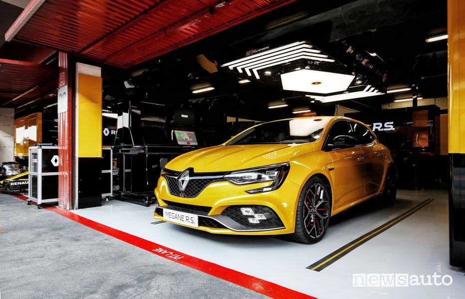 Renault Megane R.S. Trophy 2019, vista posteriore