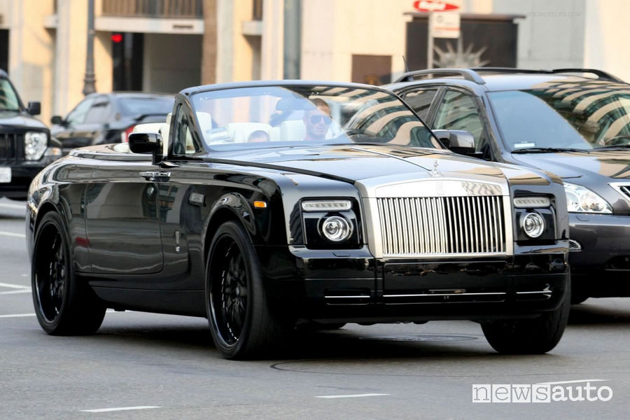 Rolls Royce Phantom di David Beckham