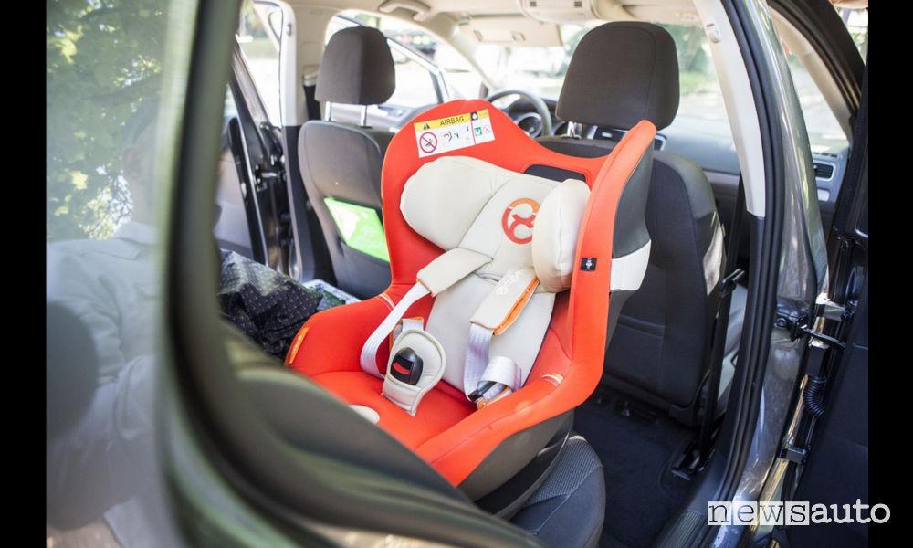 Bambini in auto Art. 172 Codice della Strada