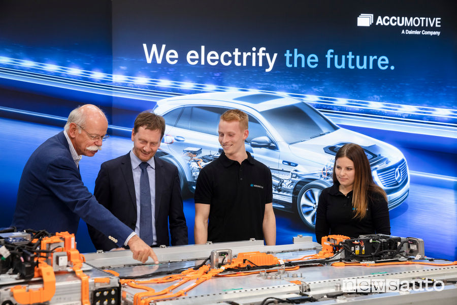 Daimler auto elettriche