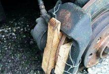 Pastiglia freno legno lavori a regola d'arte