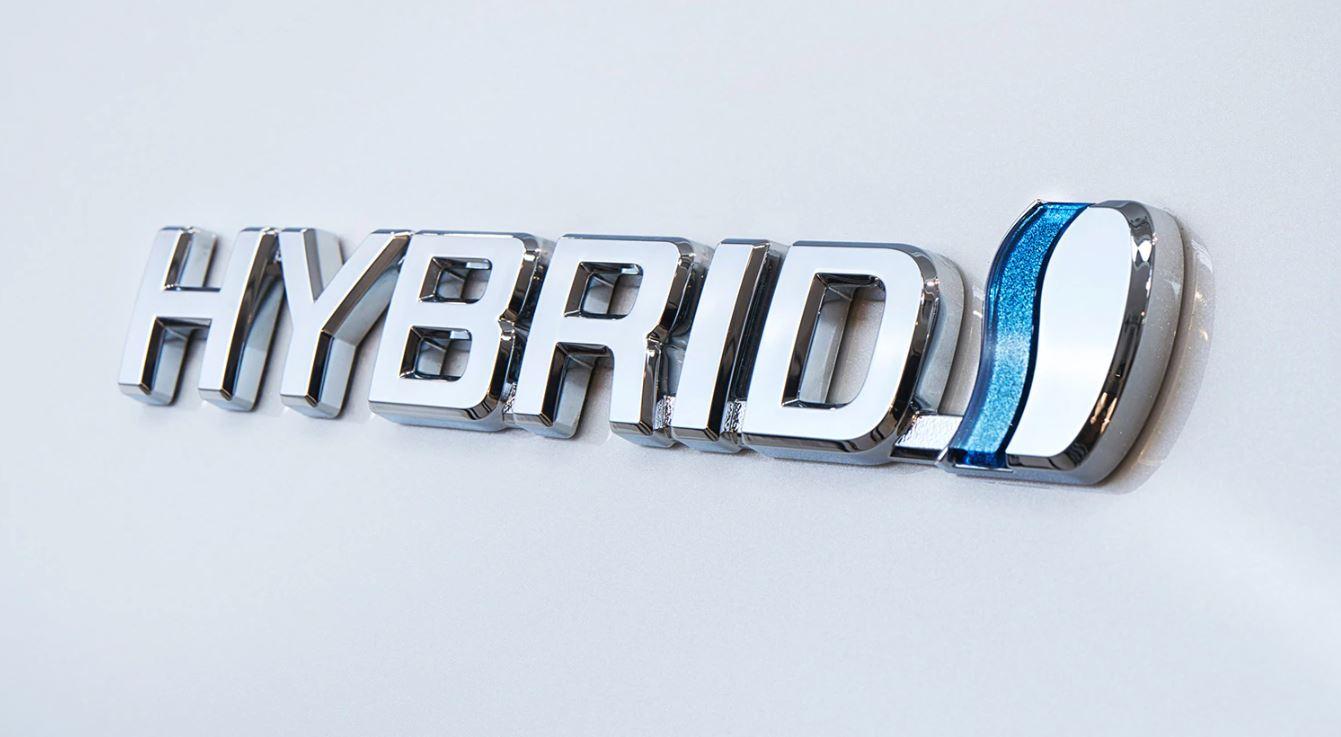 Hybrid Ibrido logo toyota