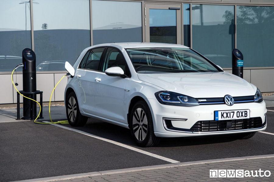 10 auto elettriche più vendute in Italia VW Golf