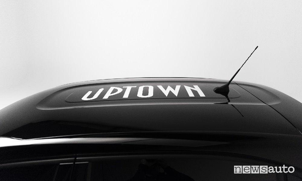 Citroen serie speciale C3 Uptown, tetto
