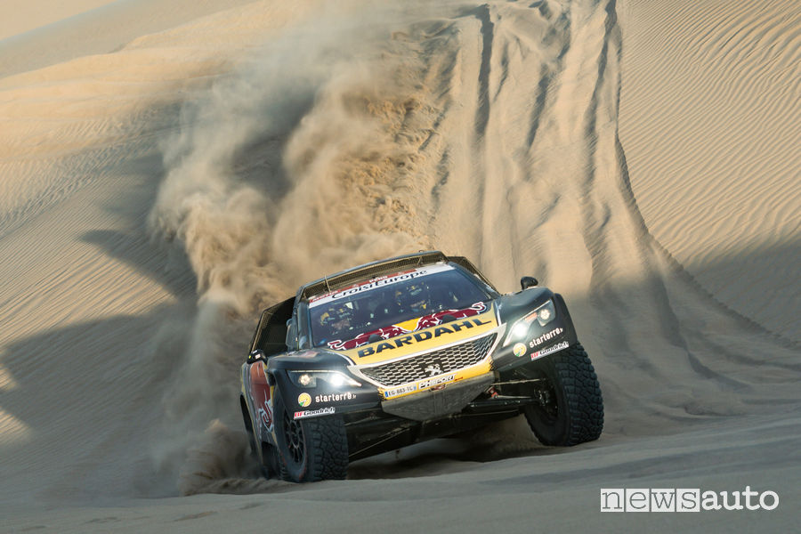 Dakar 2019 Peugeot 3008 DKR Loeb 2^ tappa