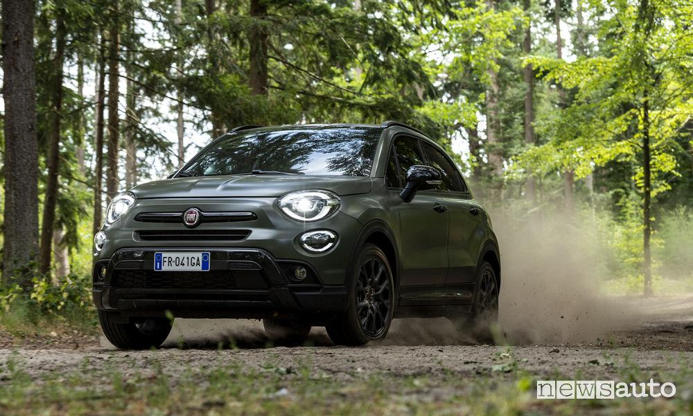 Fiat 500X S-Design, sterrato