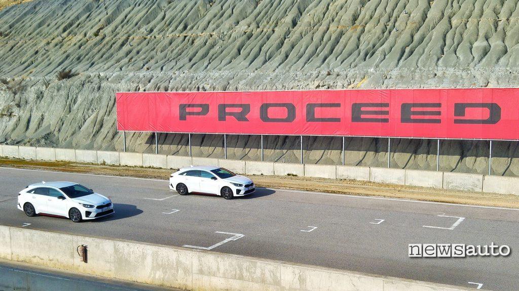 Kia Proceed GT 2019 30 in pista