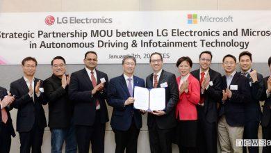 Photo of Guida autonoma: novità LG e Microsoft al CES di Las Vegas 2019