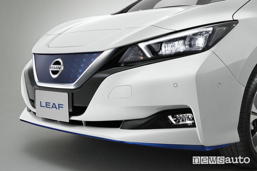 Nissan Leaf 3.Zero, frontale