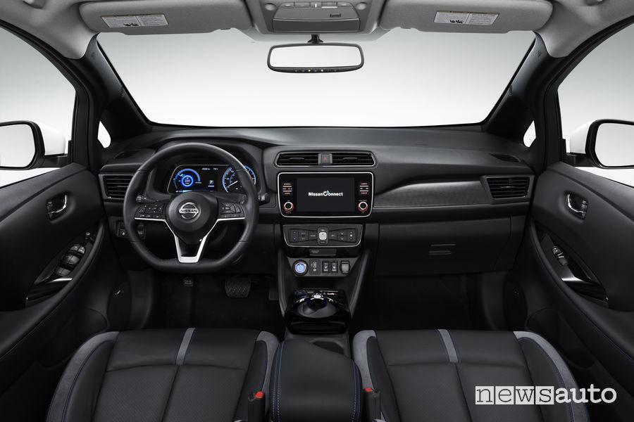 Nissan Leaf 3.Zero, plancia strumenti