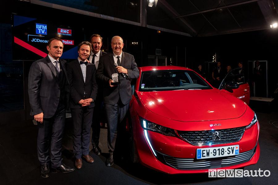 Peugeot 508 auto più bella dell'anno 2018
