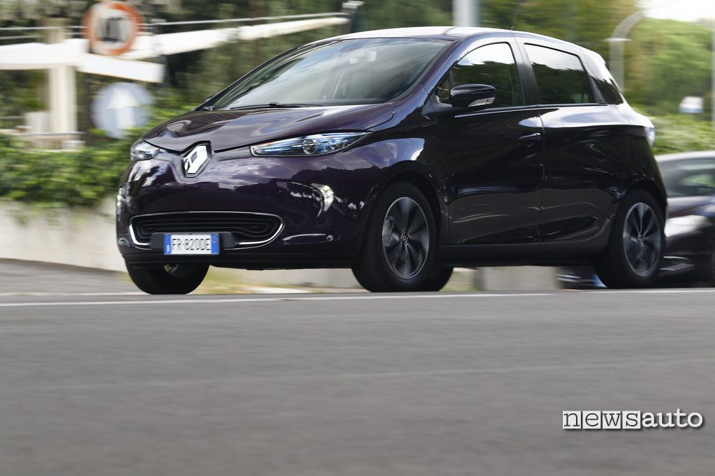 Renault Zoe prova test