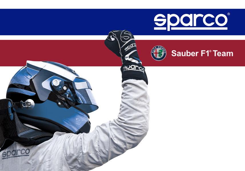 Tute Sparco f1 Sauber Alfa Romeo