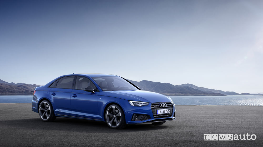 Audi A4 Sedan, vista laterale