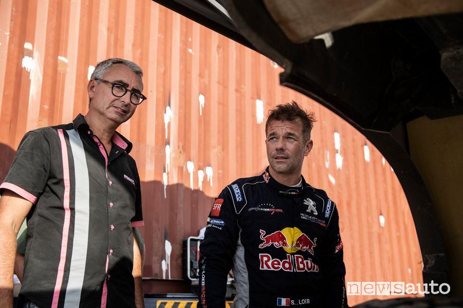 Bernard Piallat e Sebastien Loeb Dakar 2019
