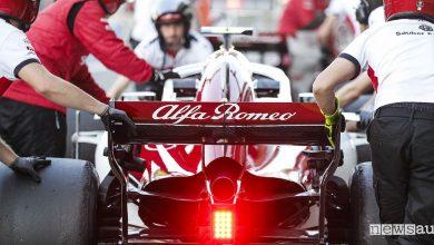 Tute Sparco F1, il team Sauber Alfa Romeo