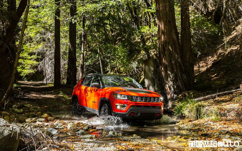 10 SUV più venduti in Italia nel 2018 Jeep Compass