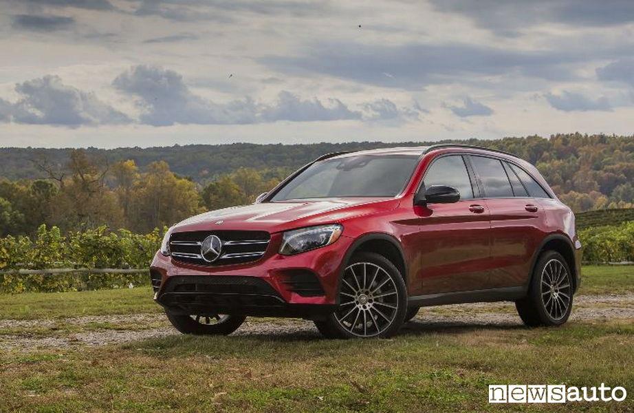10 SUV più venduti in Italia nel 2018 Mercedes-Benz GLC