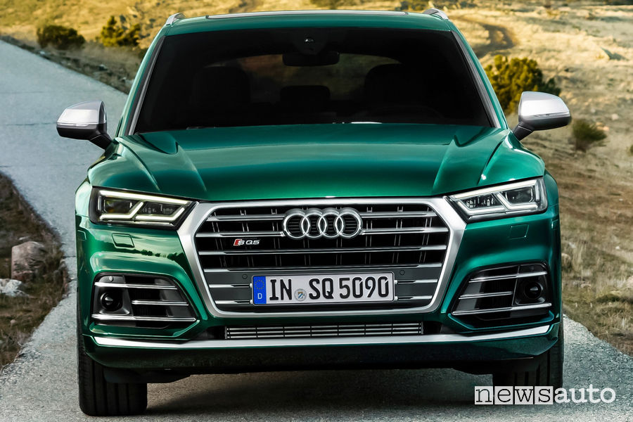 Audi SQ5 TDI, frontale