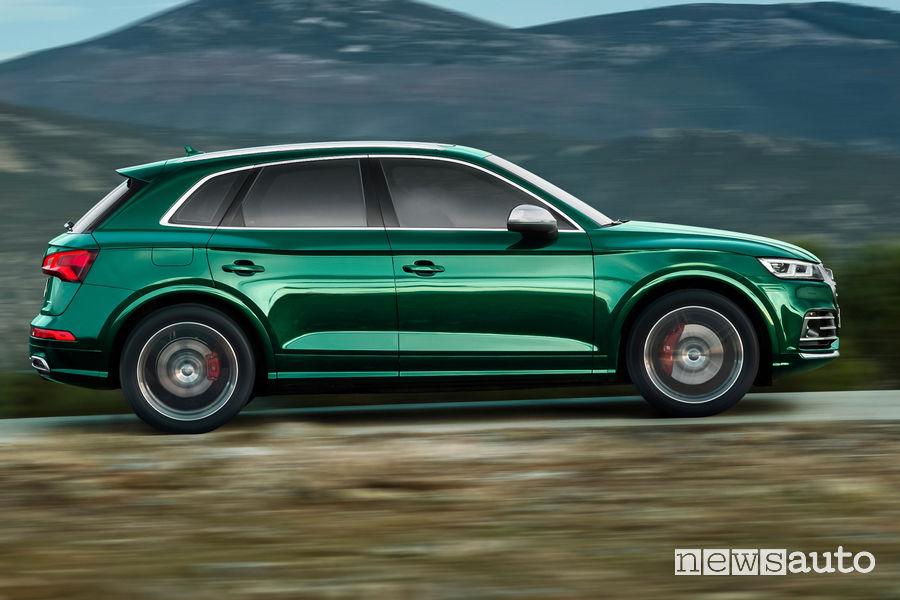 Audi SQ5 TDI, vista laterale