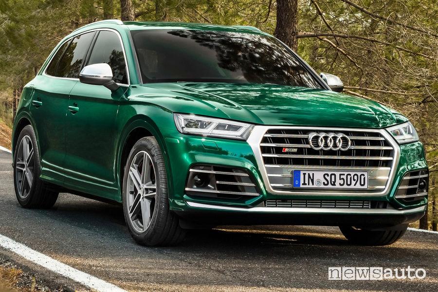 Audi SQ5 TDI, vista frontale