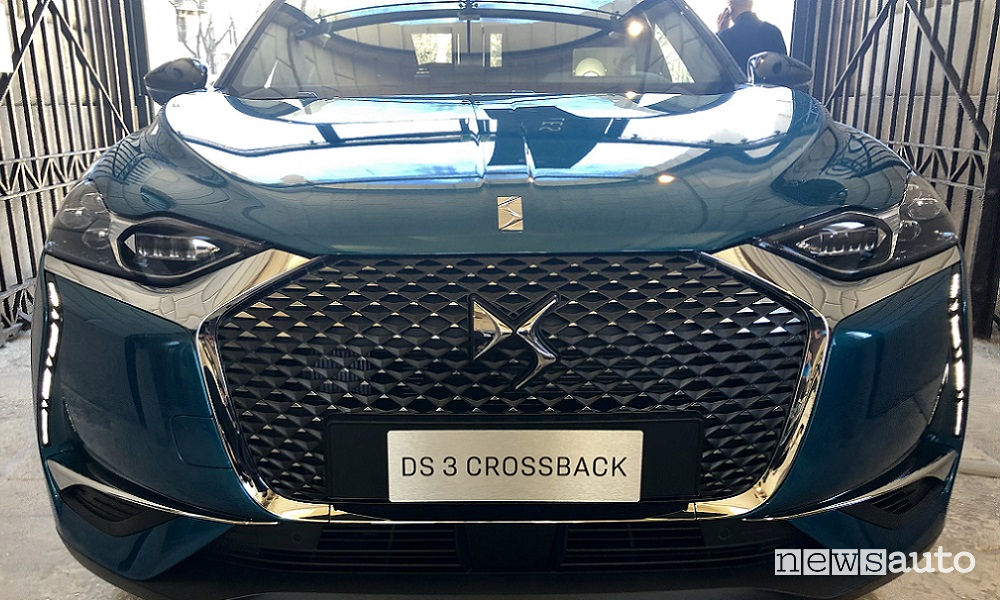 DS 3 Crossback frontale