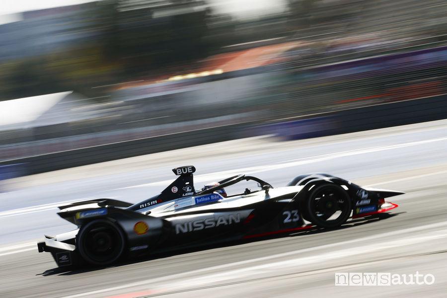 Formula E 2019 ePrix Messico, Buemi Nissan e.Dams