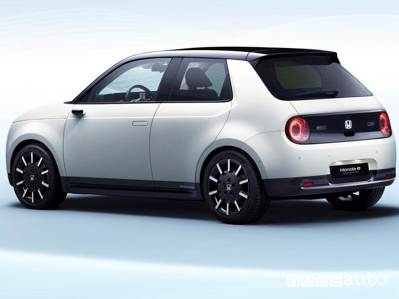 auto elettrica Honda e-Prototype Ginevra 2019 city car