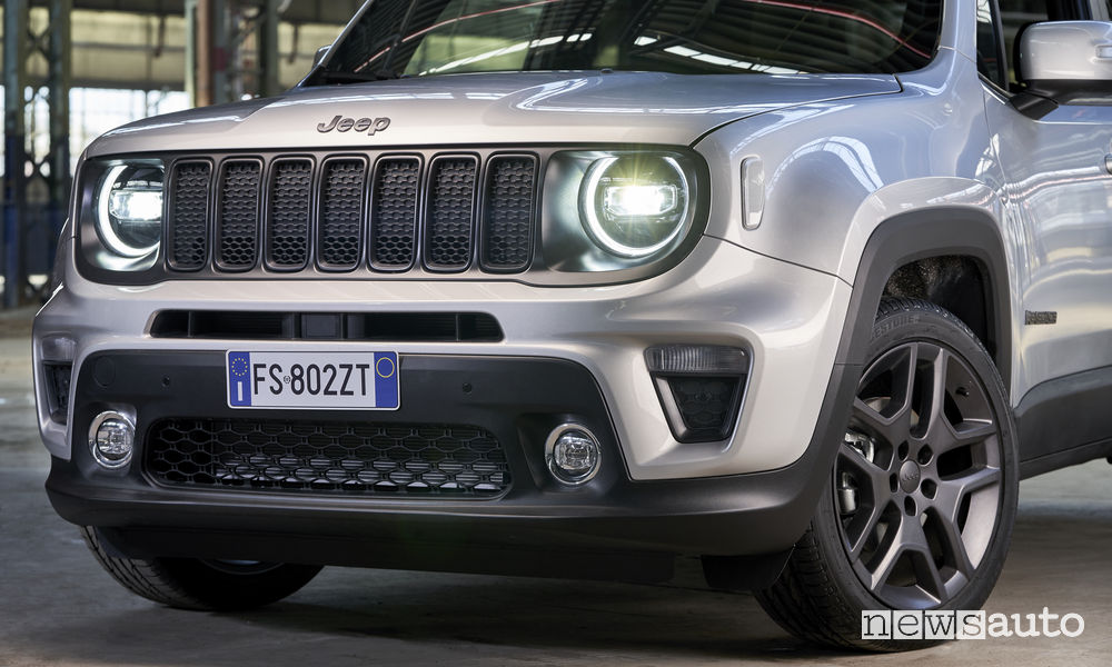Jeep Renegade S 2019, frontale