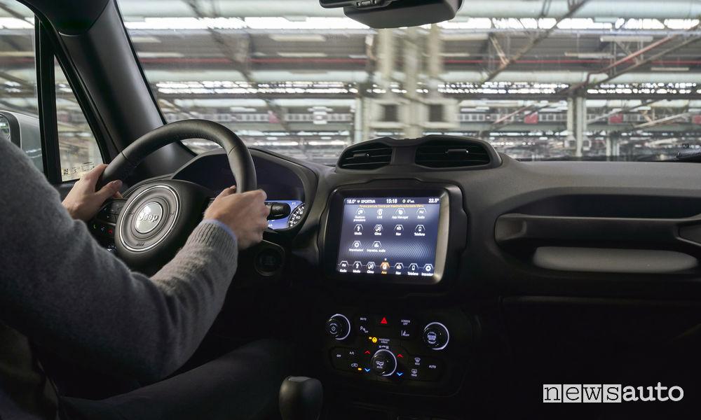 Jeep Renegade S 2019, abitacolo