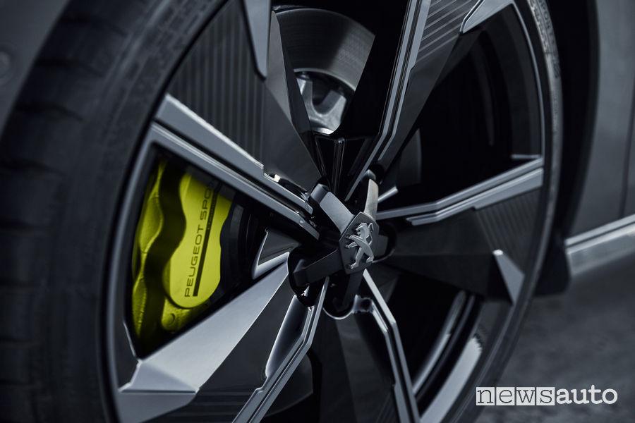 """Peugeot 508 Sport Engineered concept, cerchi in lega 20"""""""