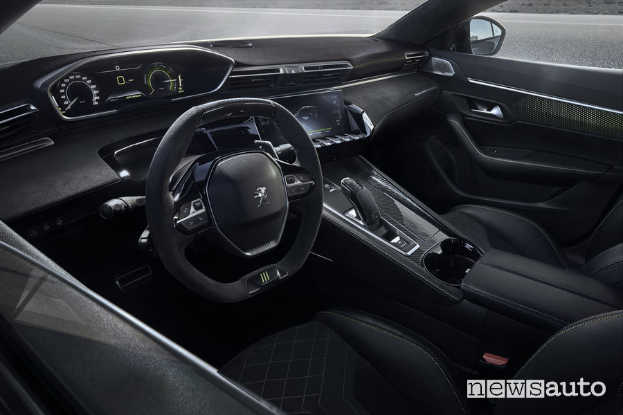 Peugeot 508 Sport Engineered concept, abitacolo