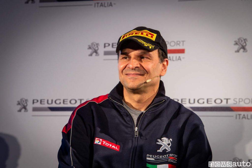 Paolo Andreucci pilota ufficiale ed ambassador Peugeot 2019