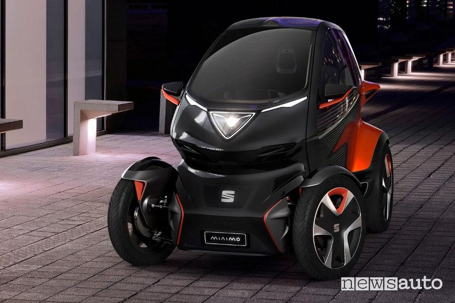 Seat Minimo concept car, vista frontale