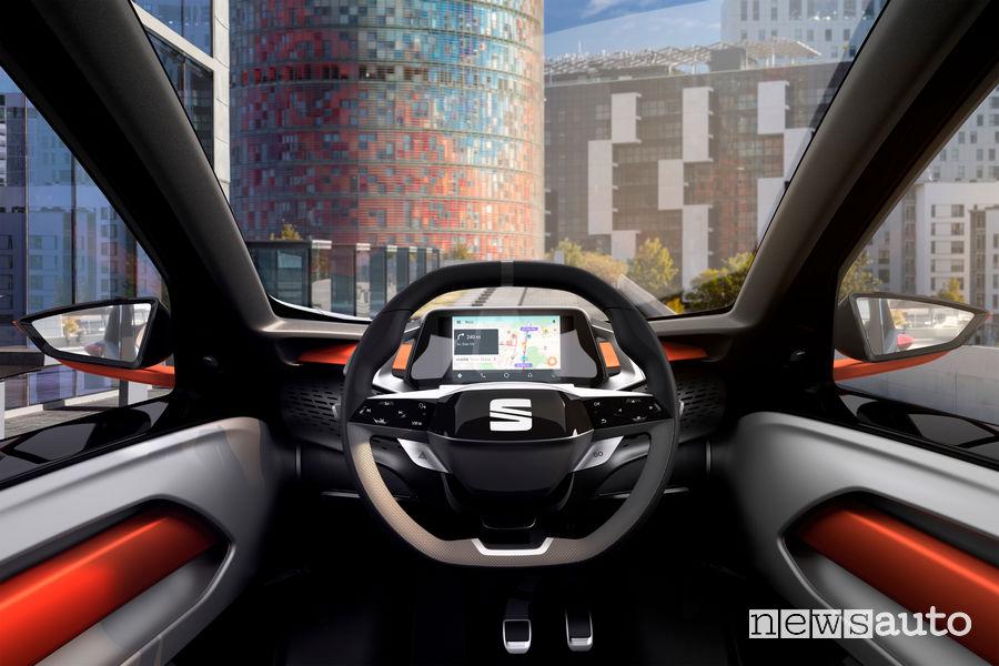 Seat Minimo concept car, abitacolo