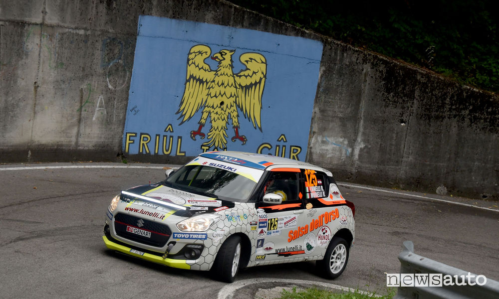 Suzuki Rally Cup Lunelli/Morelli