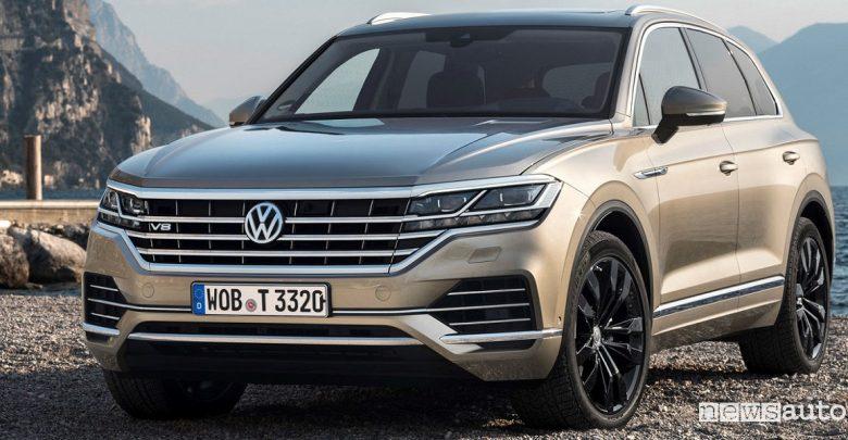 Volkswagen Touareg V8 diesel Ginevra 2019