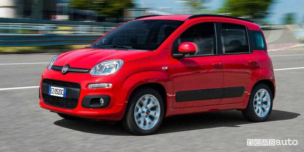 vendite auto agosto 2019 Fiat Panda